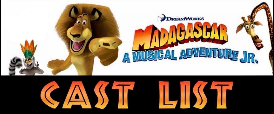 Madagascar Jr Cast List